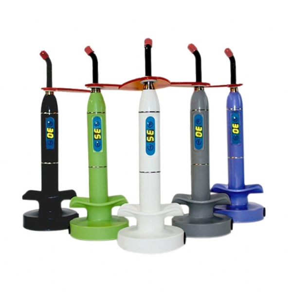 newest dental led curing light ML-21 5 colors